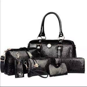6/pcs Handbag set
